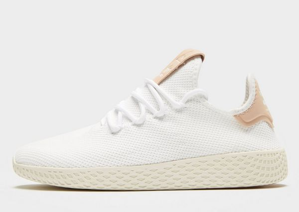 real pharrell williams x adidas originals tennis hu white ...