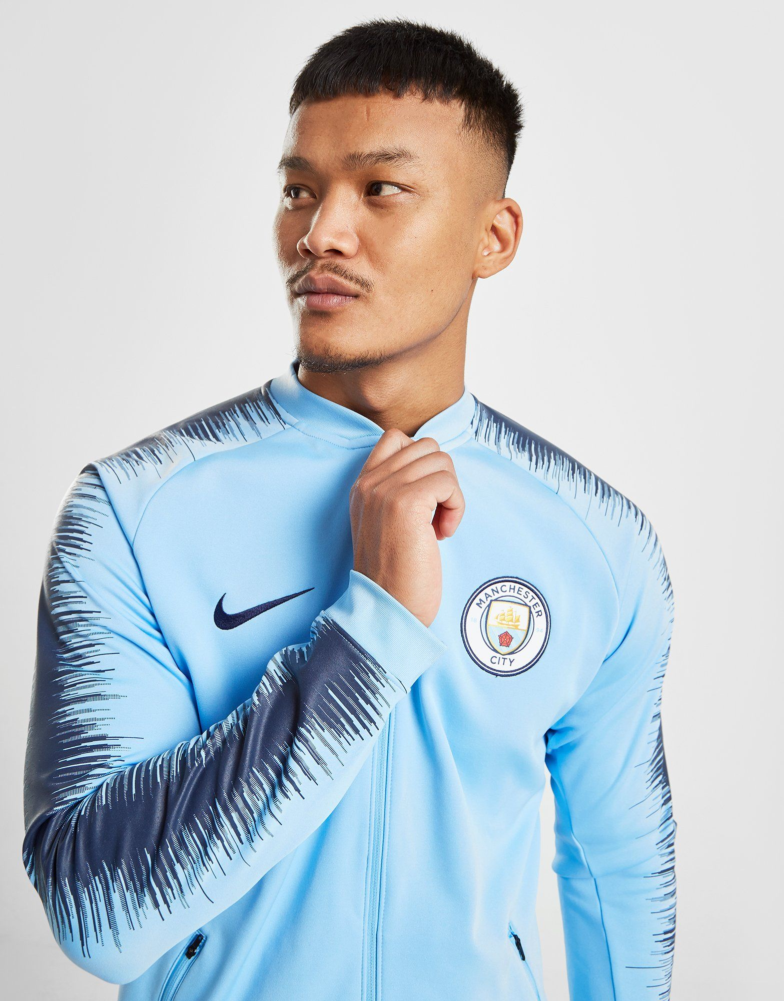 NIKE Manchester City FC Anthem Men s Football Jacket   JD Sports dad50542386