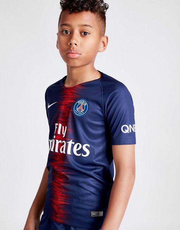 Nike camiseta 1.ª equipación Paris Saint Germain 2018 19 júnior  cba6bc6053915