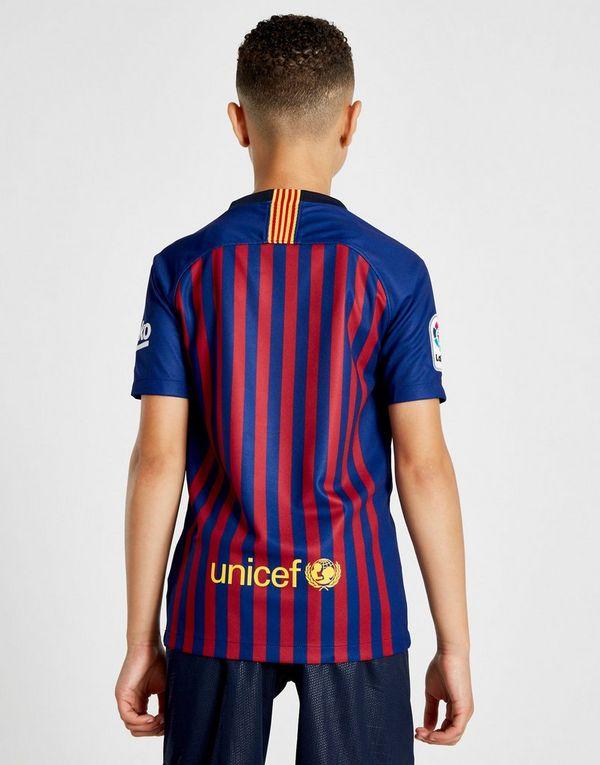 Nike camiseta FC Barcelona 2018 19 1.ª equipación júnior  adb33cf46d0
