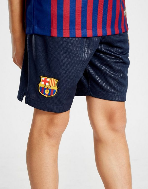 2ddc6798bfd47 Nike FC Barcelona 2018 19 Home Shorts Junior