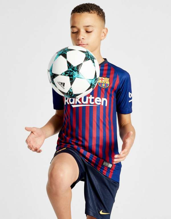 Nike FC Barcelona 2018 19 Home Shorts Junior  c01aa644ac13e