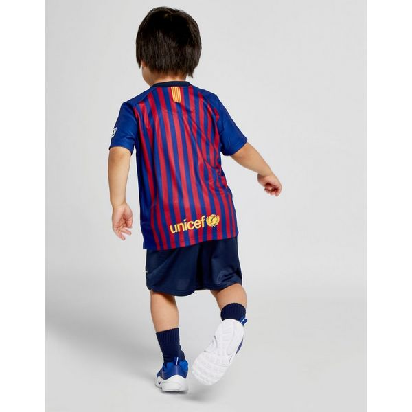 d6b95dbe009 ... NIKE 2018 19 FC Barcelona Stadium Home Baby Football Kit ...