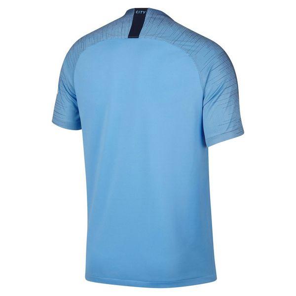 ª equipación júnior  Nike camiseta Manchester City FC 2018 19 1. 6e96d09c951