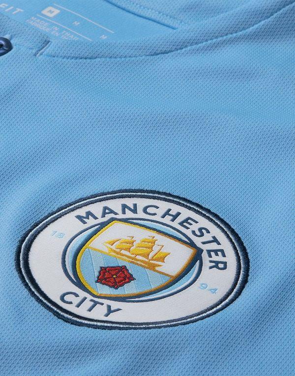 e3042cab75b8f Nike camiseta Manchester City FC 2018 19 1.ª equipación júnior