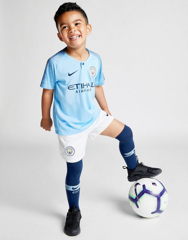 Nike Manchester City 18 19 Home Kit Children  b6dfd9a18