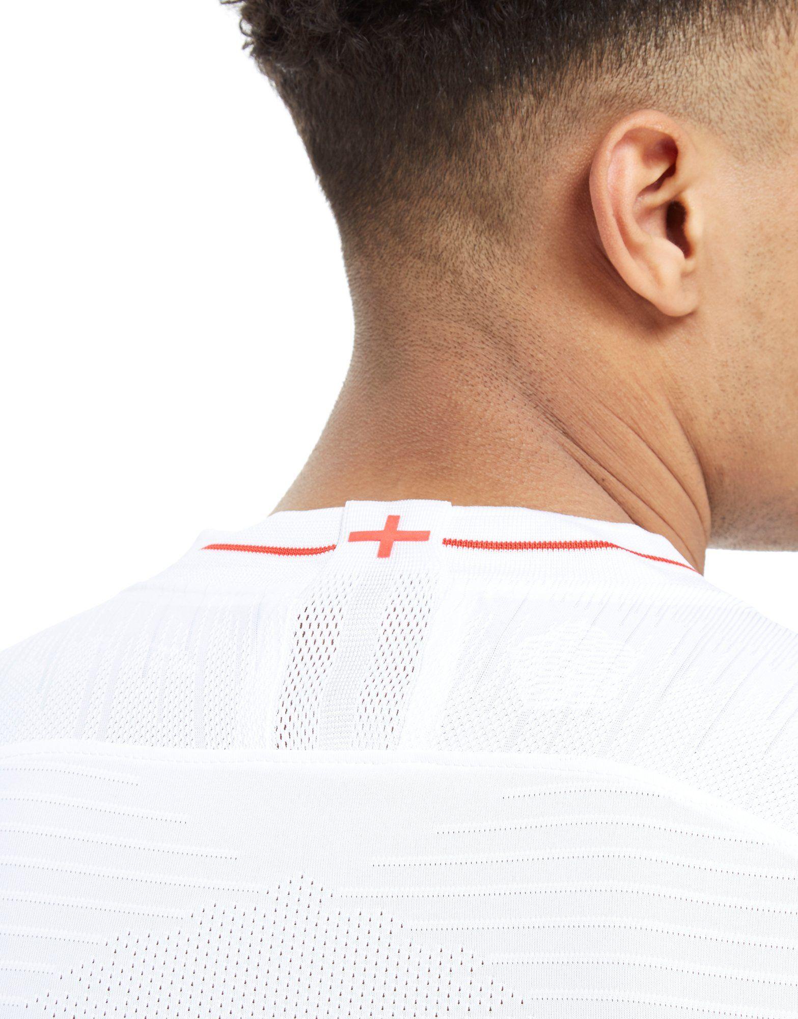 Nike England 2018 Home Vapor Shirt