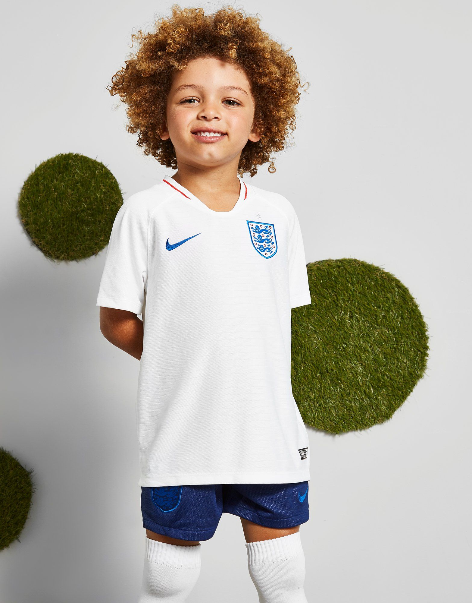 Nike England 2018 Home Kit Children
