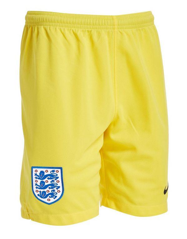 Nike England 2018 Home Goalkeeper Shorts Junior  a9b7aa980