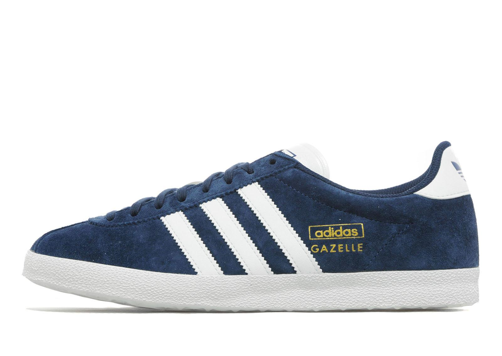 Womens Adidas Dark Grey Gazelle Og Ii Trainers
