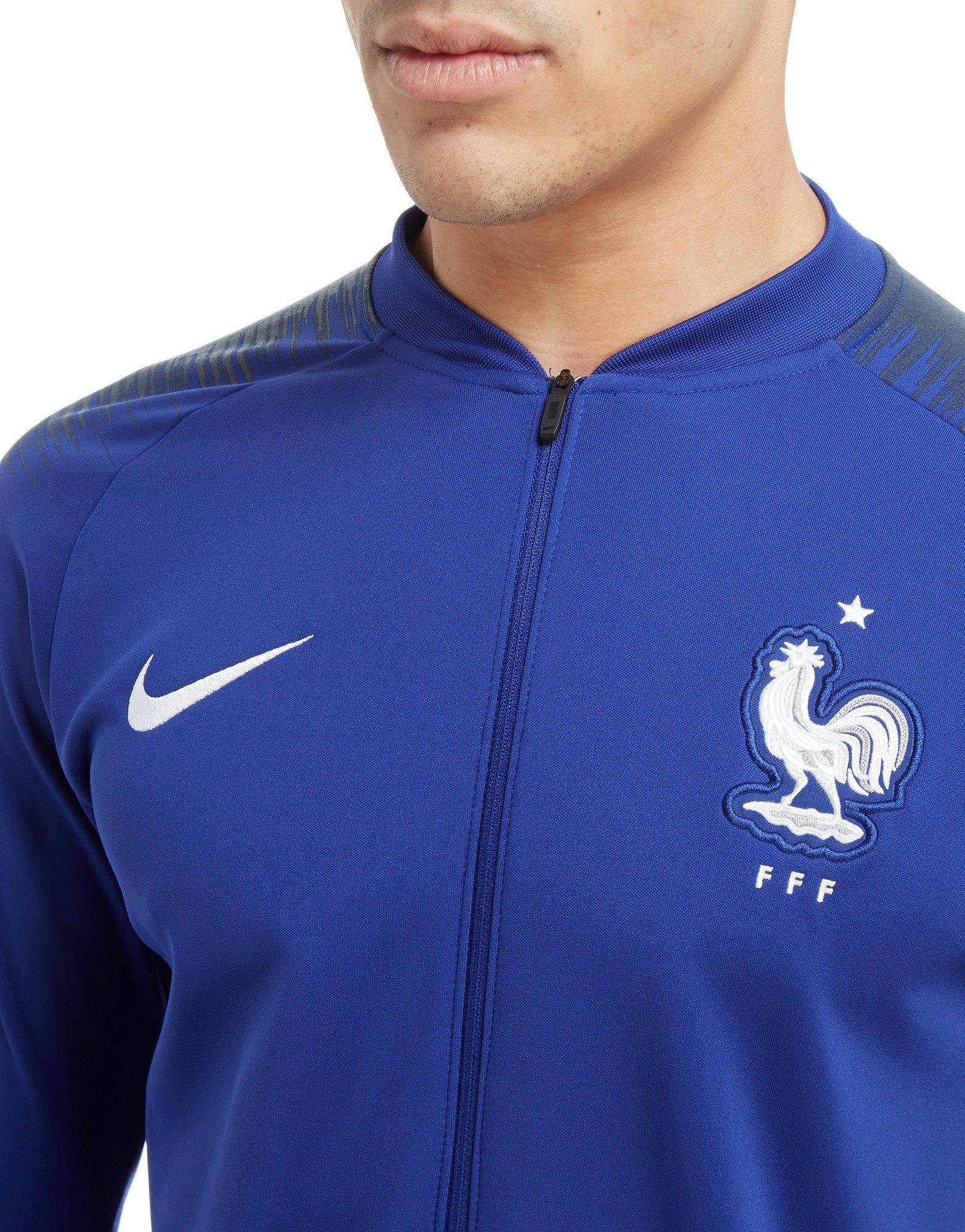 75c4836076 Veste nike fff tech knit bleu – Vestes élégantes populaires