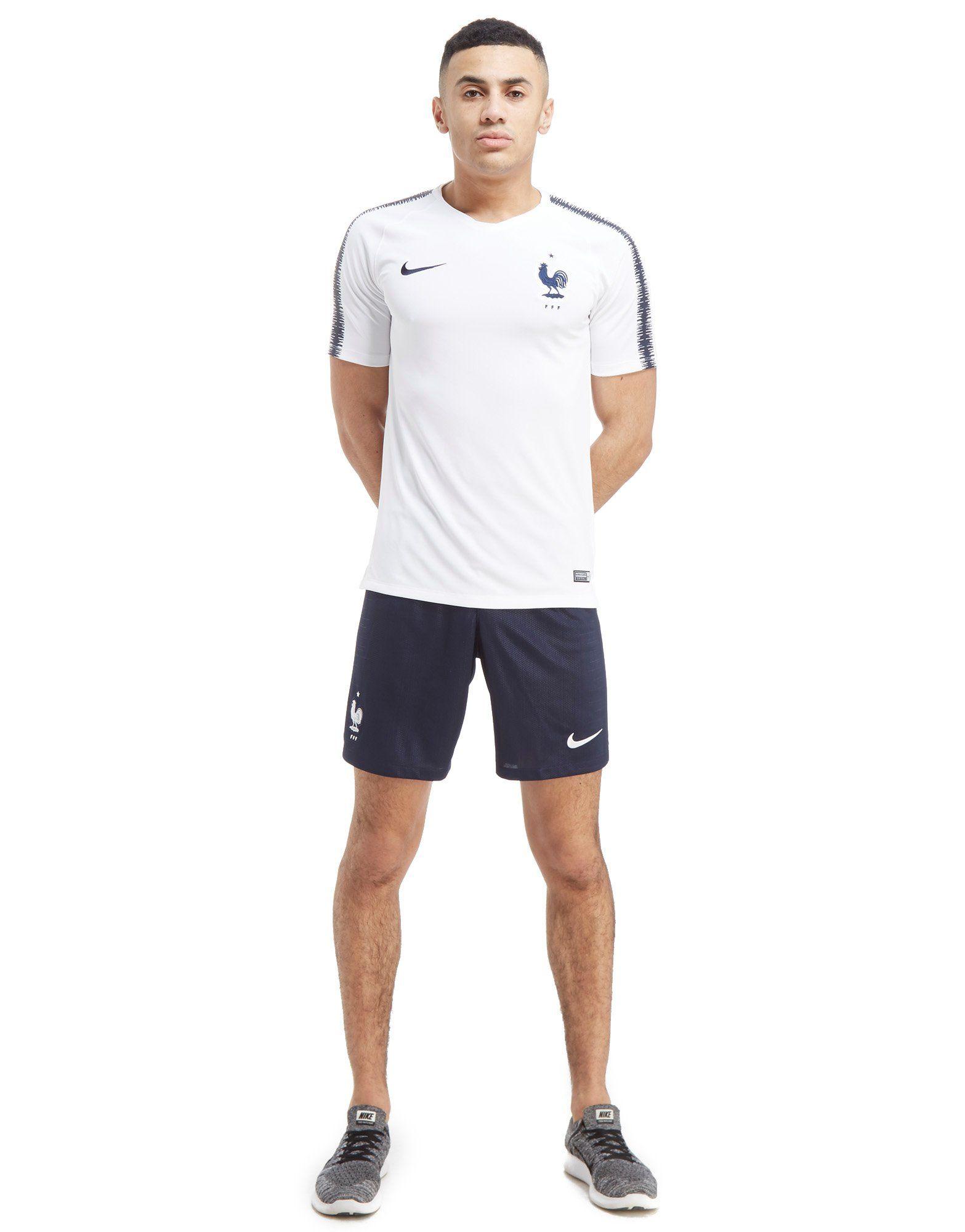 France Nike Nike Squad France Weiss Training Shirt qBvwOEZ
