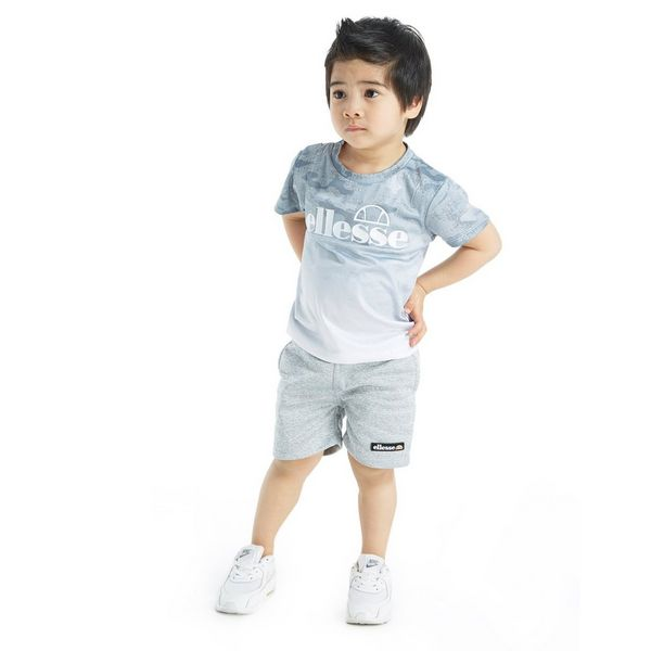 b6bb1f7642a414 Ellesse Diego Fade T-Shirt   Shorts Set Infant ...