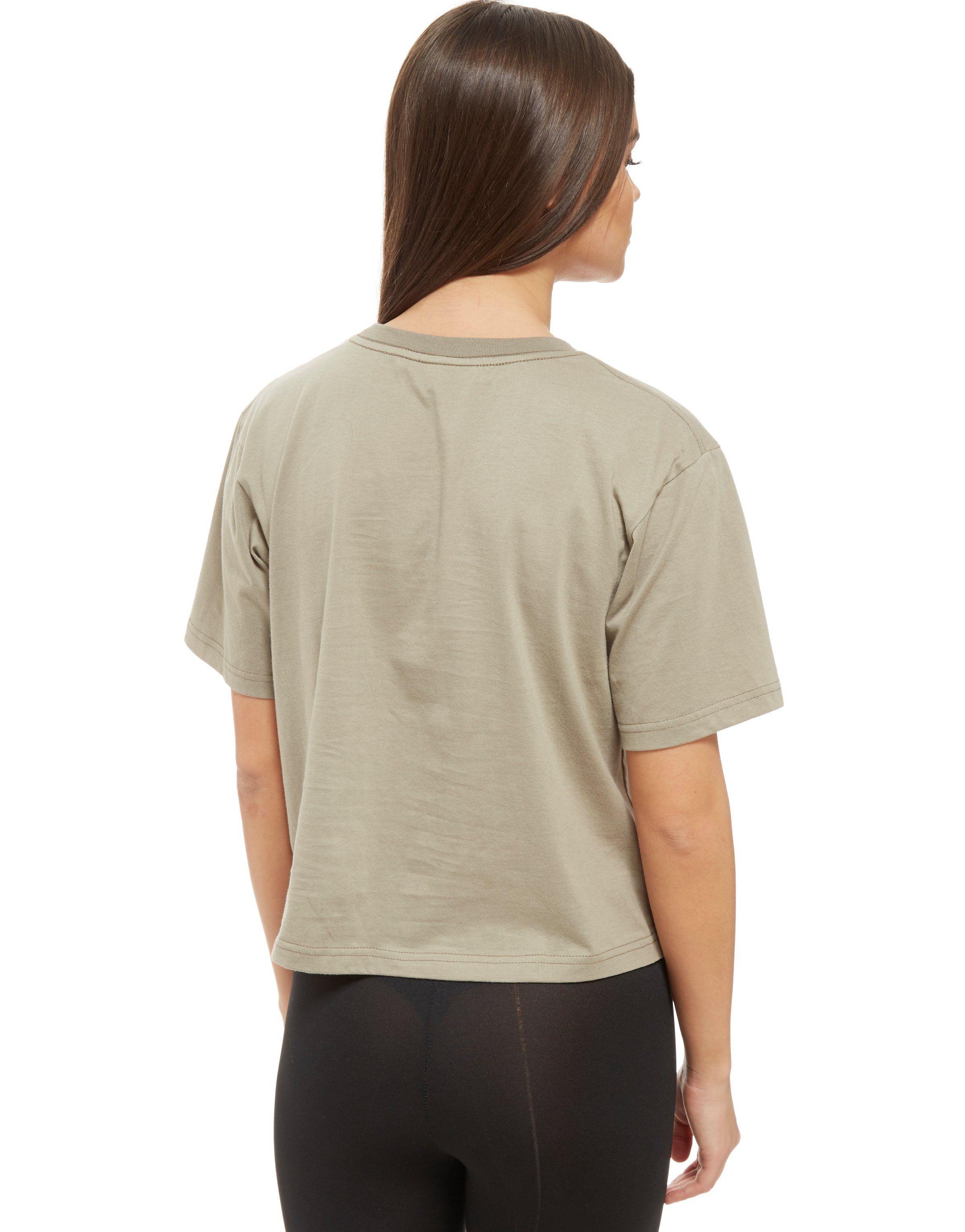 Nicce Cut Logo T-Shirt Gr眉n