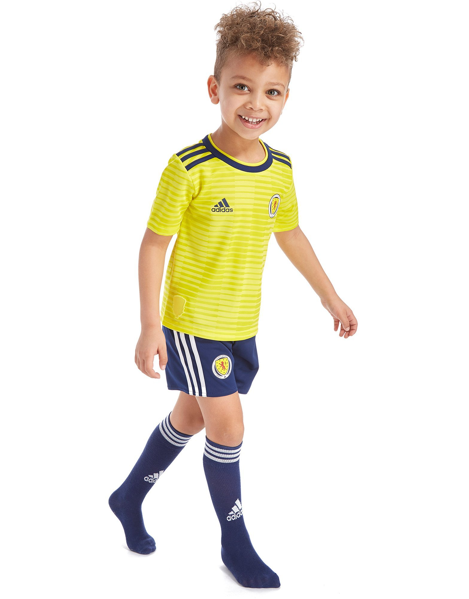adidas Scotland FA 2018/19 Away Kit Children
