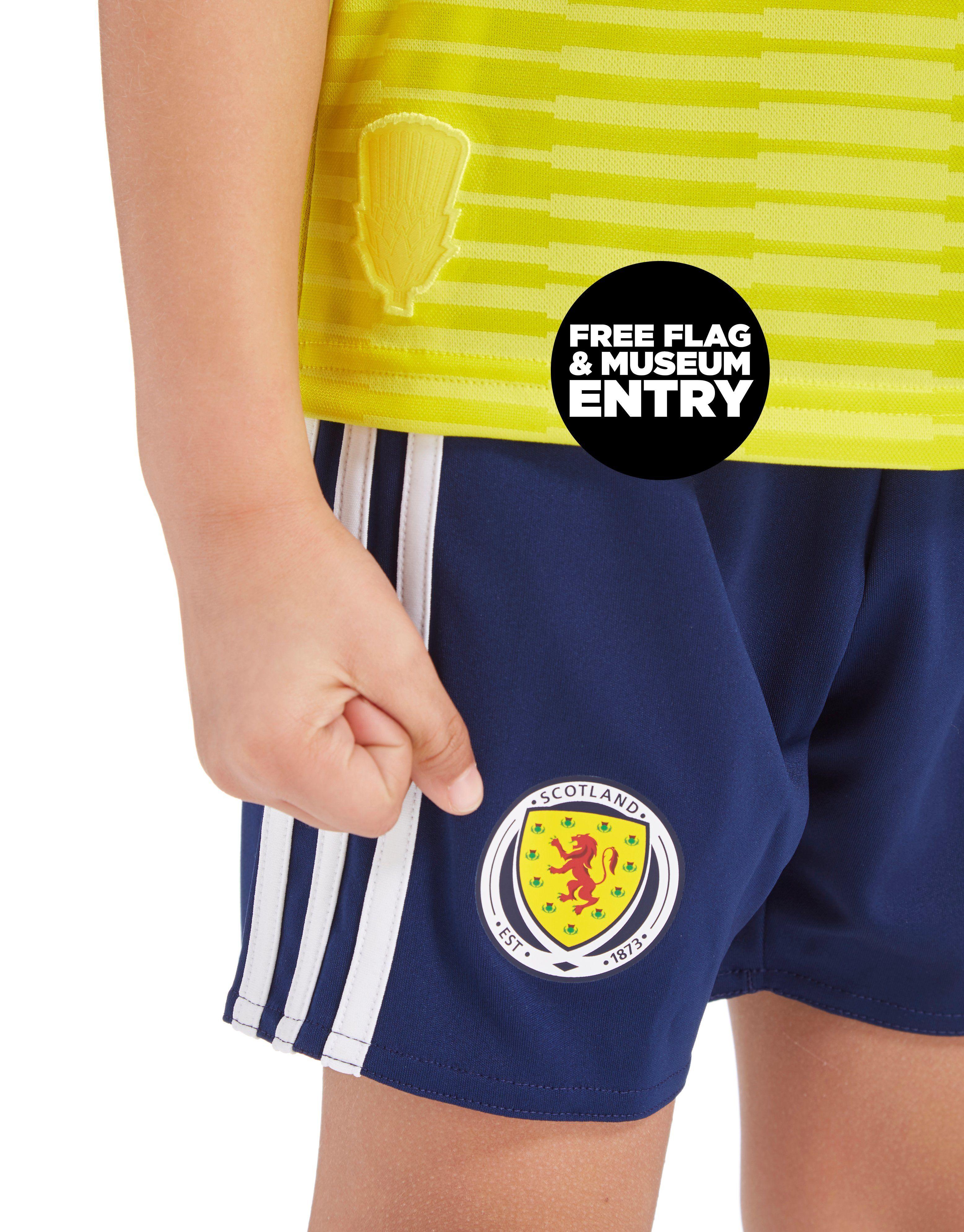 adidas Scotland FA 2018/19 Away Kit Children