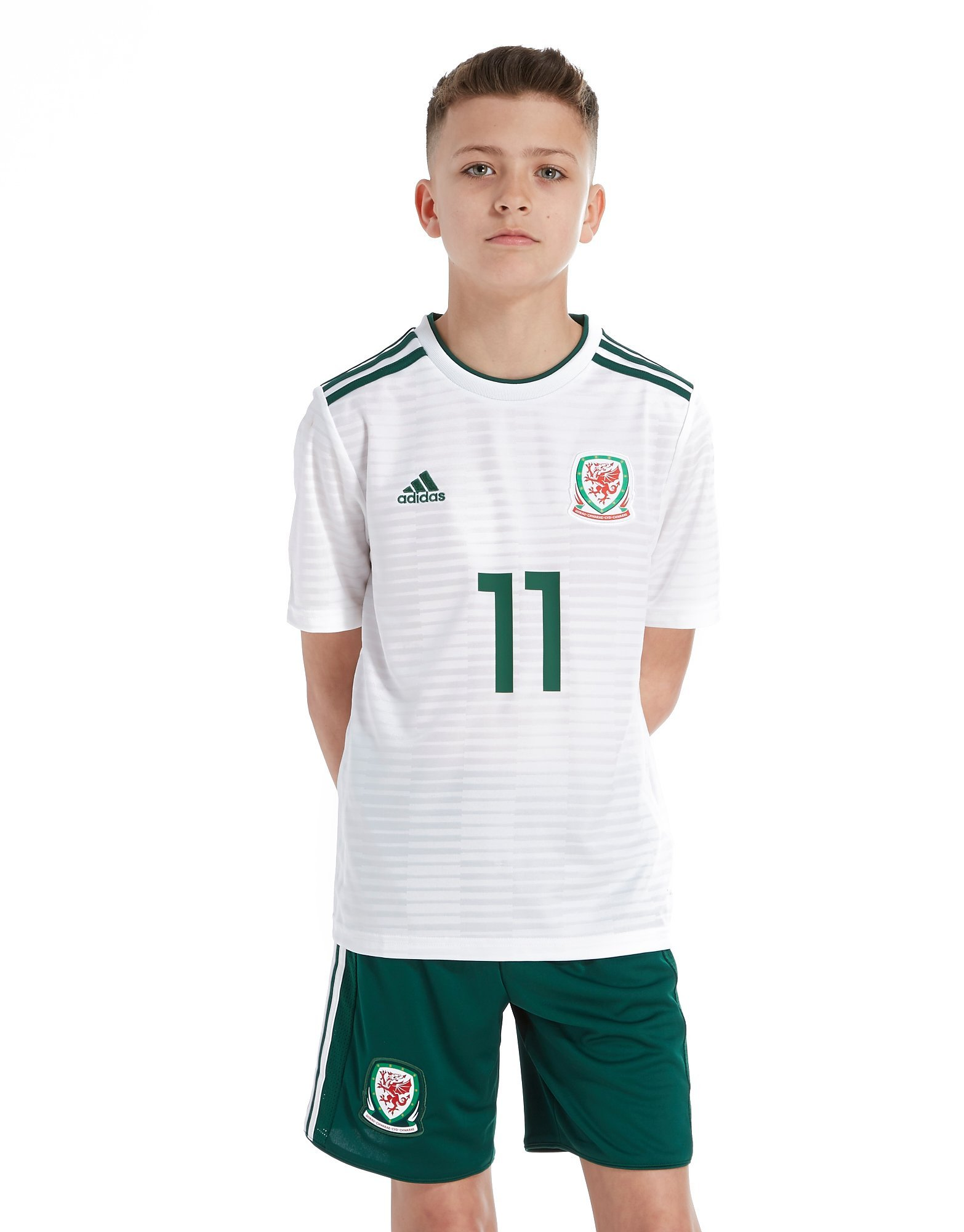 adidas Wales Away 2018/19 Shorts Junior