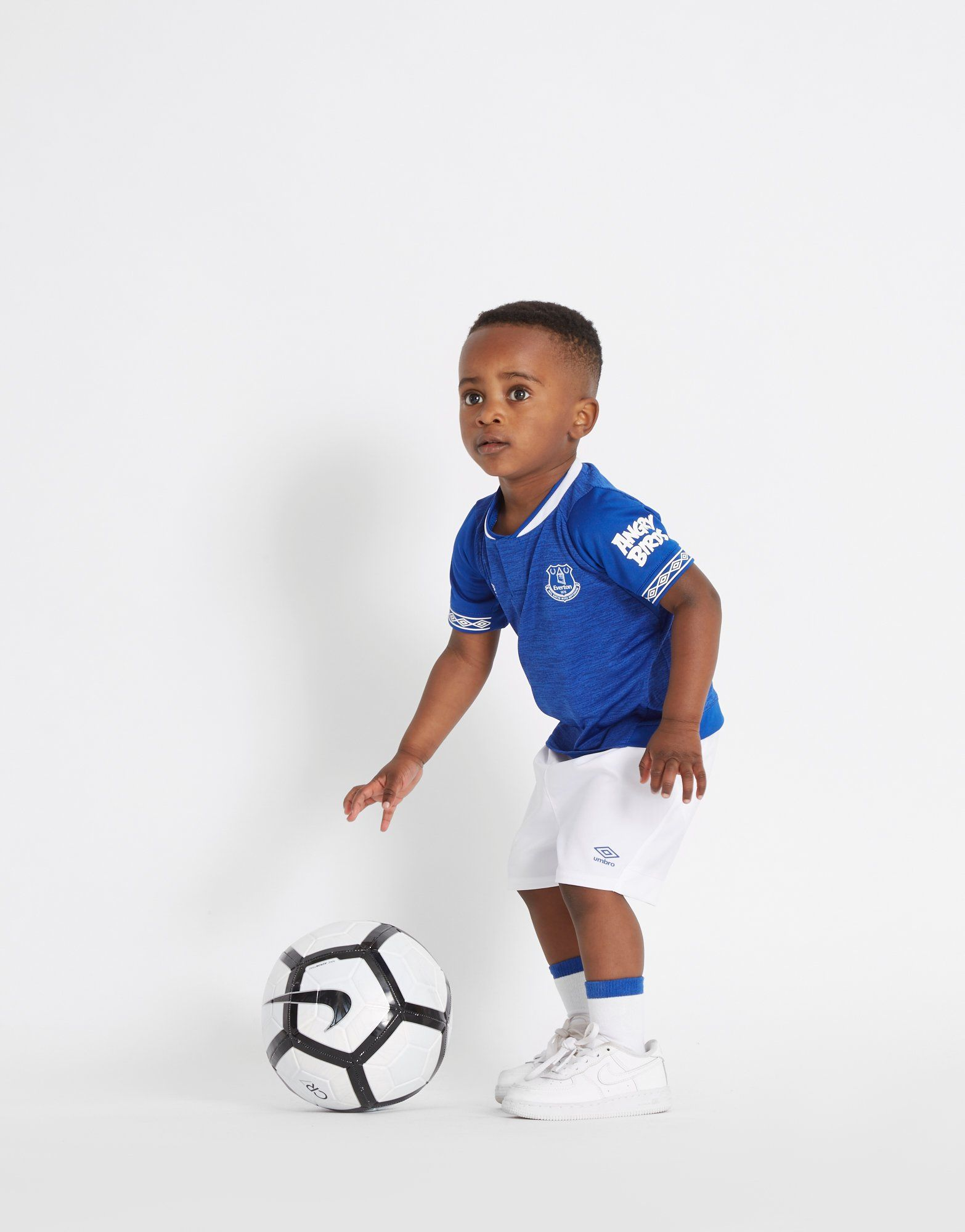 Umbro conjunto Everton FC 2018/19 1.ª equipación para bebé