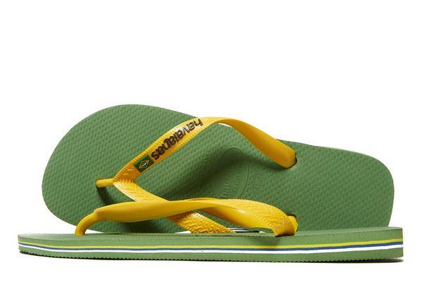 12796077653ad2 Havaianas Brazil Logo Flip Flops