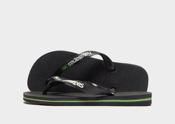 95ed554ca604e Havaianas Brasil Logo Flip Flops Children