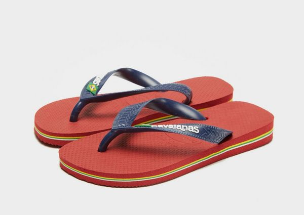 6cbe44e7f6d6 Havaianas Brasil Logo Flip Flops Children
