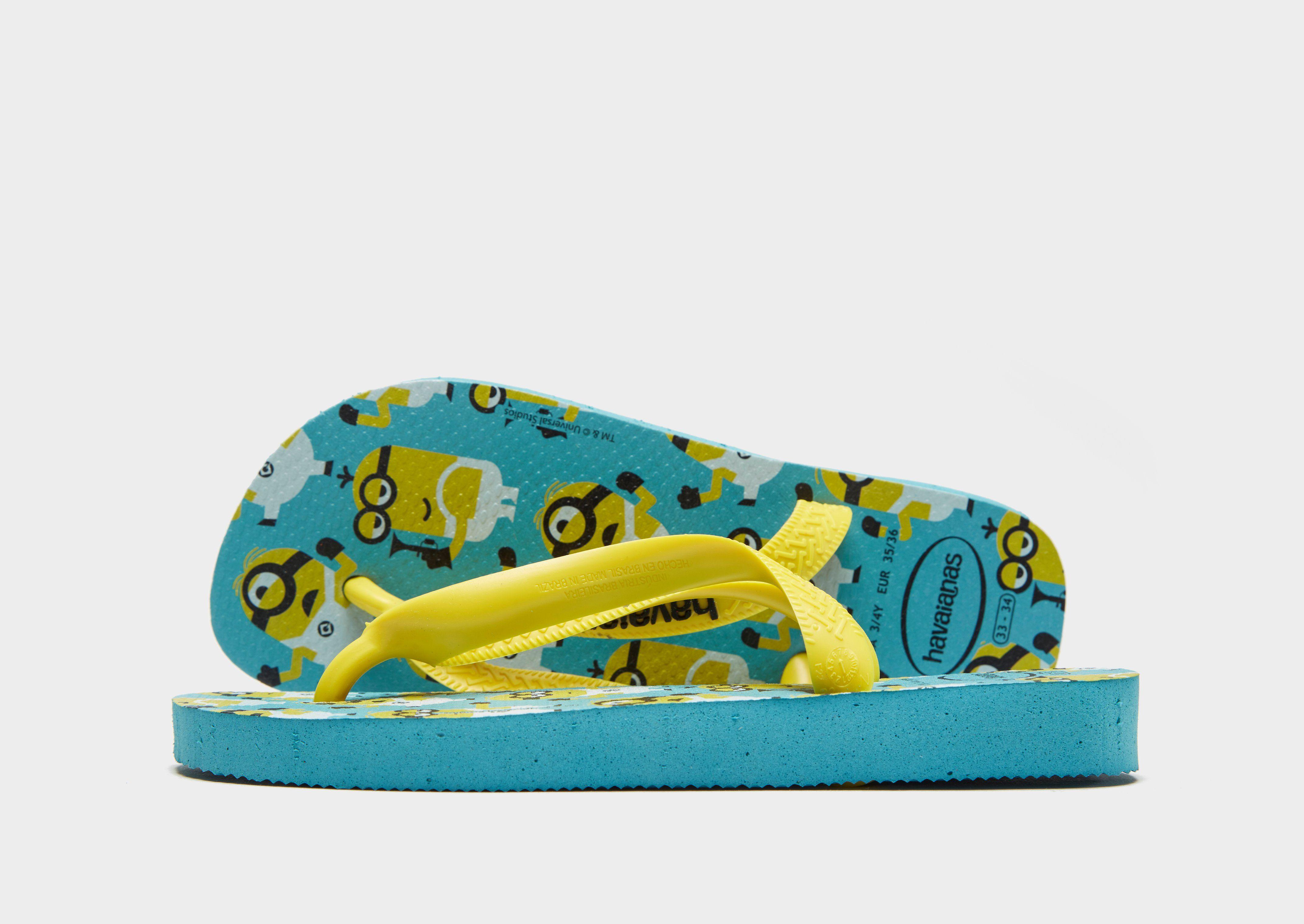 01a5bb311b4 Havaianas Minions Flip Flops Children