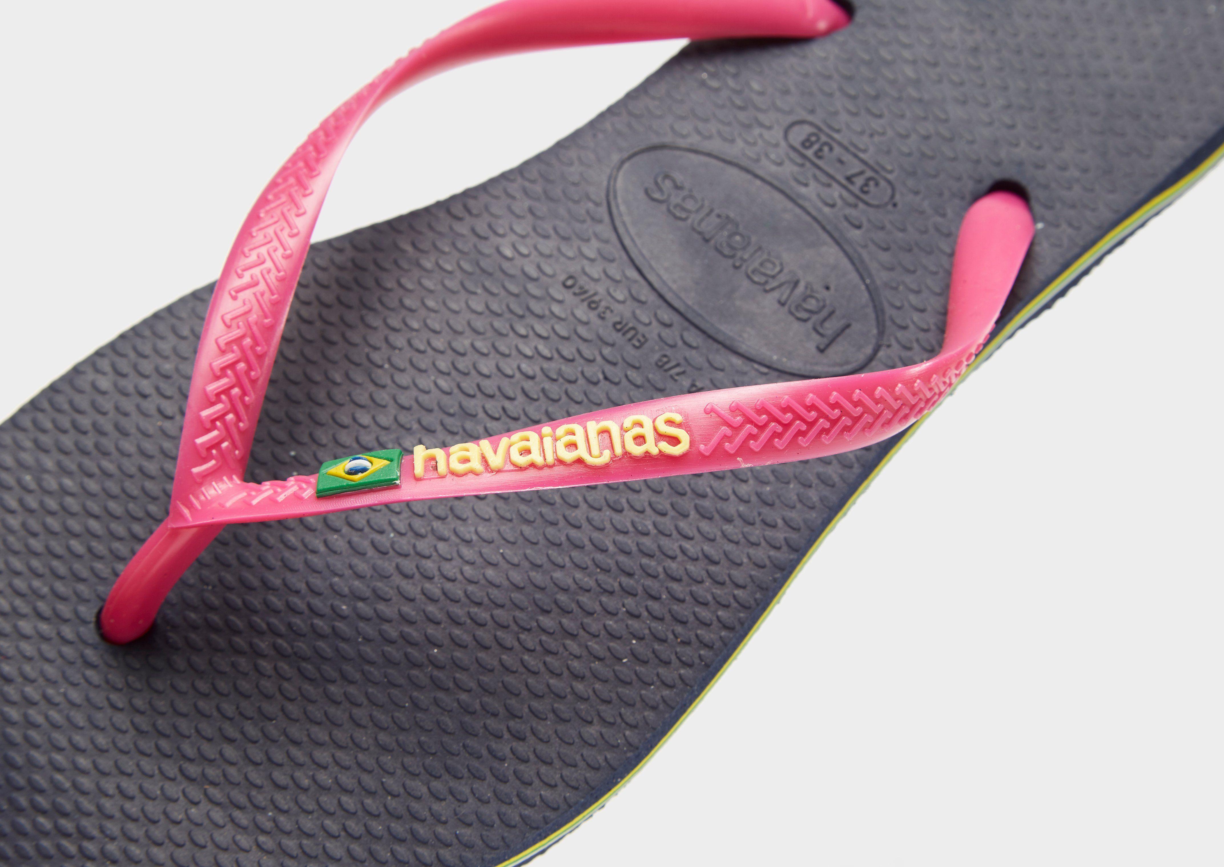 Havaianas Slim Brasil Flip Flops Damen Blau Billige Echte Spielraum Geniue Händler Ausverkaufs-Shop Kaufen Zum Verkauf wlGLS
