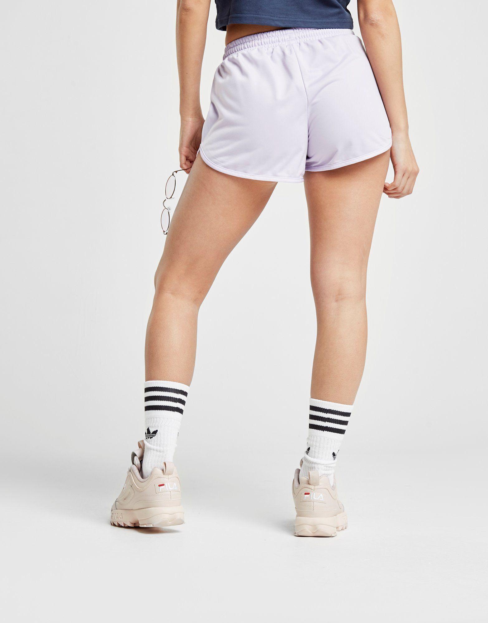 Ellesse Tape Poly Shorts Lila