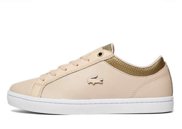 Lacoste Straightset - Women's Classic Trainers - Pink 058065