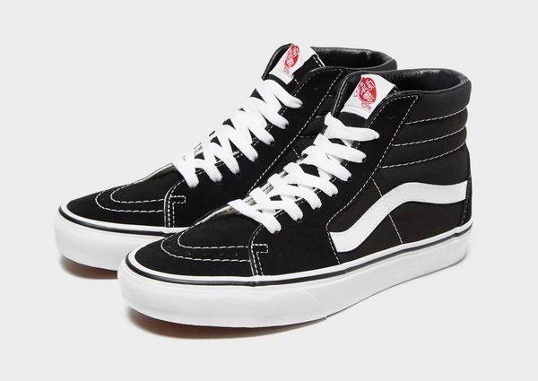 vans schwarz high damen