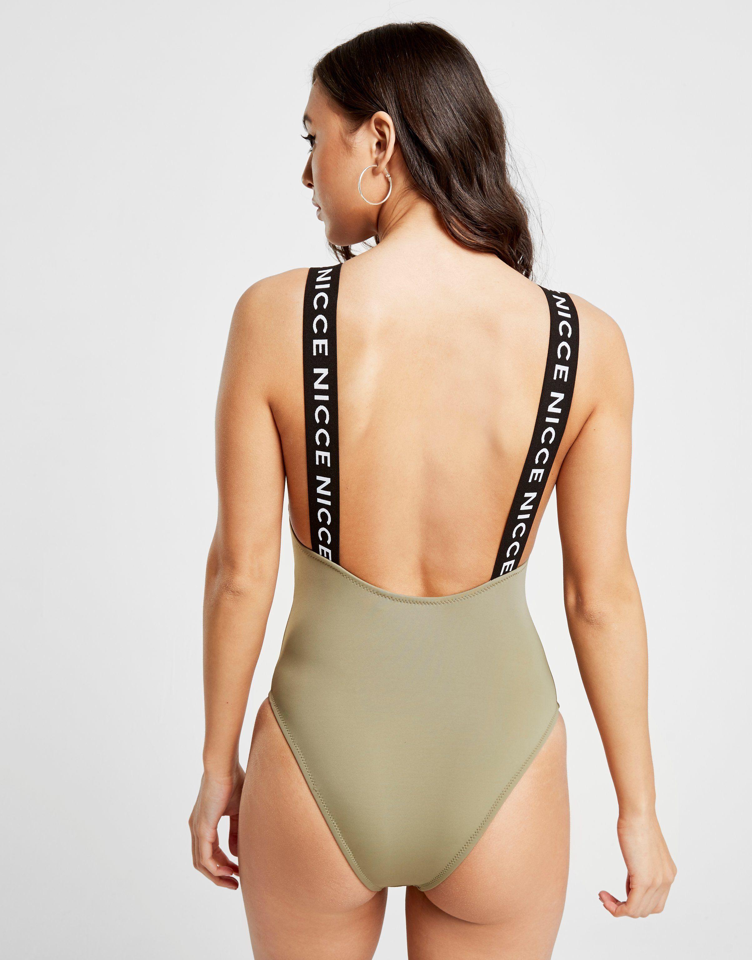 Nicce Tape Swimsuit