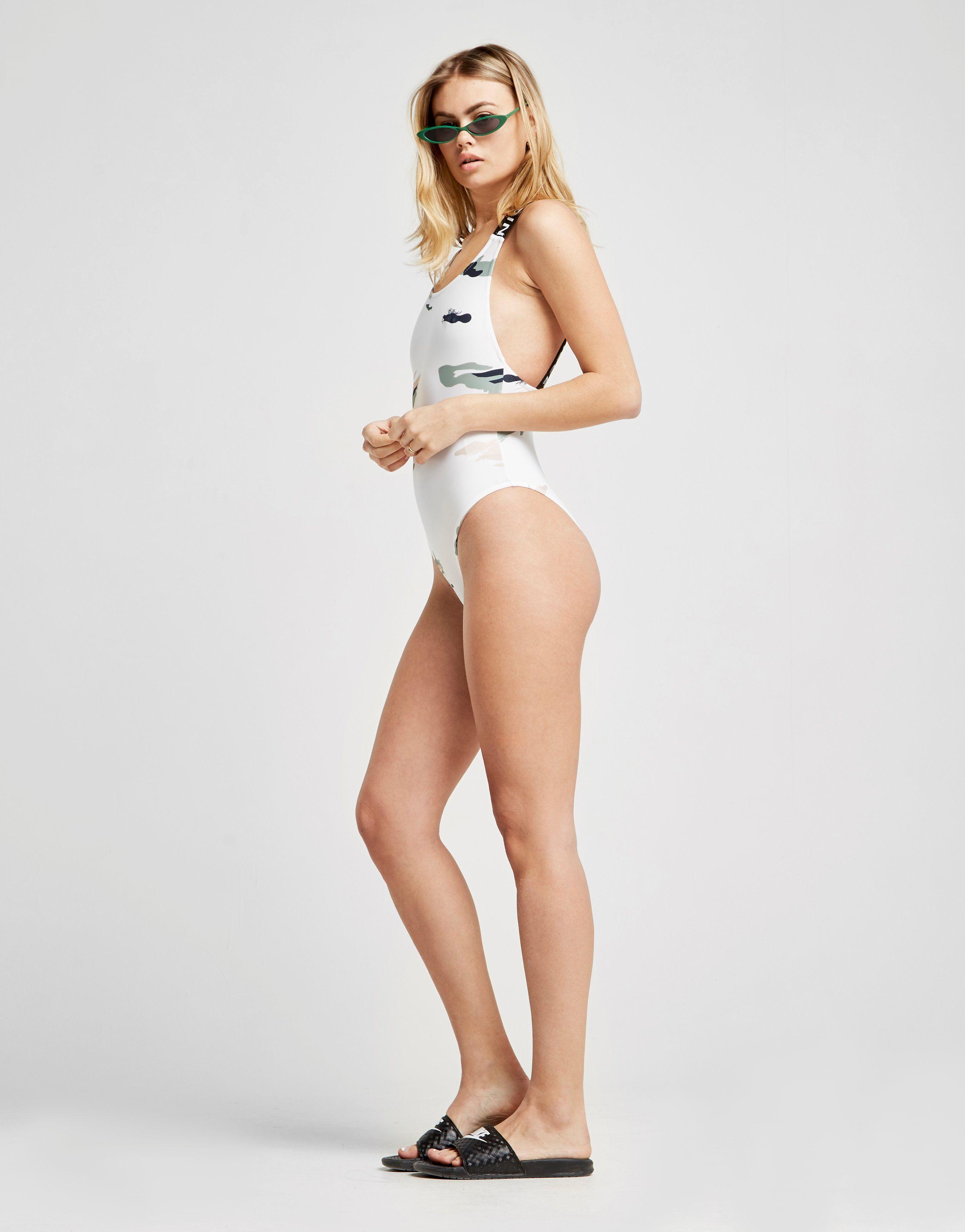 Nicce Camo Swimsuit