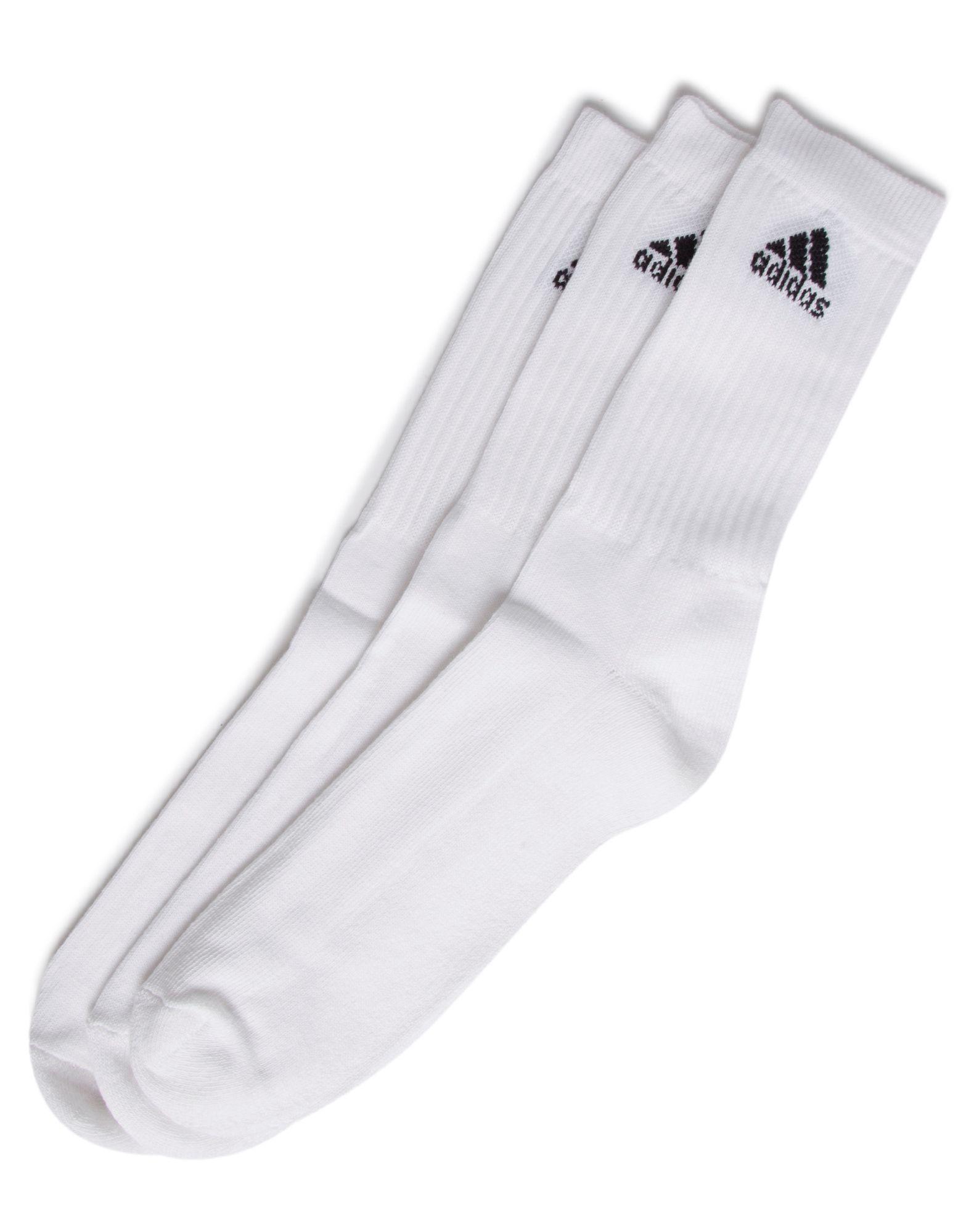 adidas 3 Pack Sport Socks