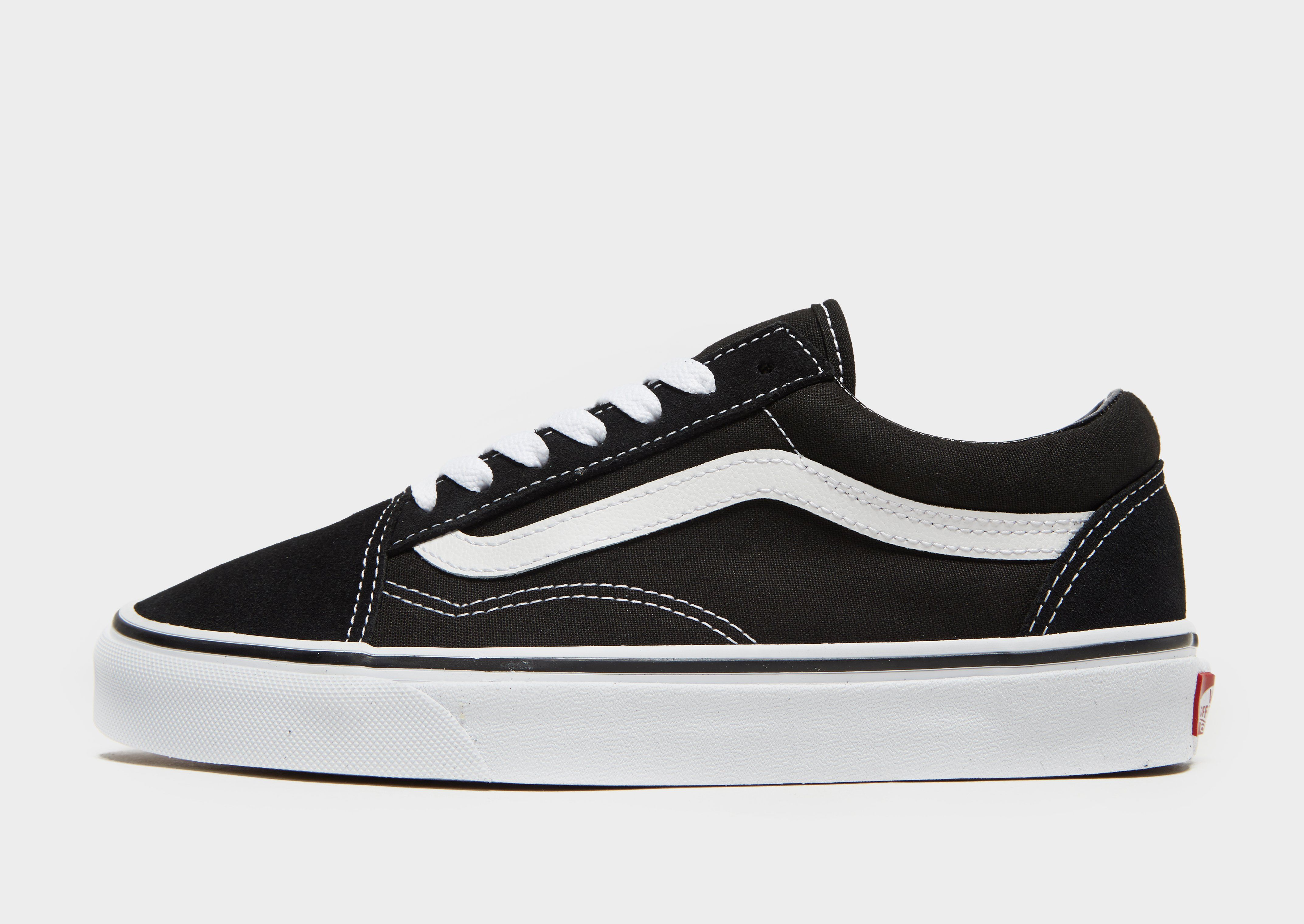 vans old skool high black damen