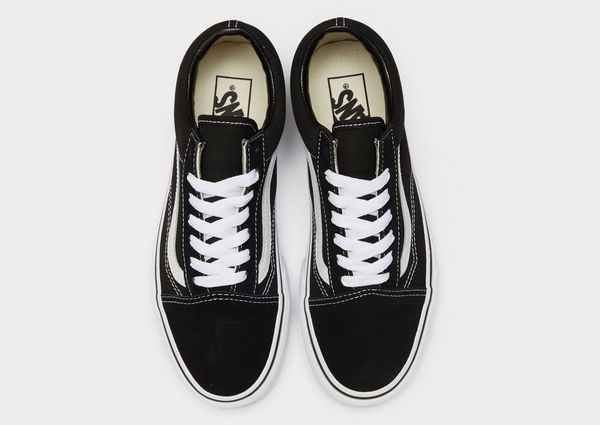 old school vans damen schwarz