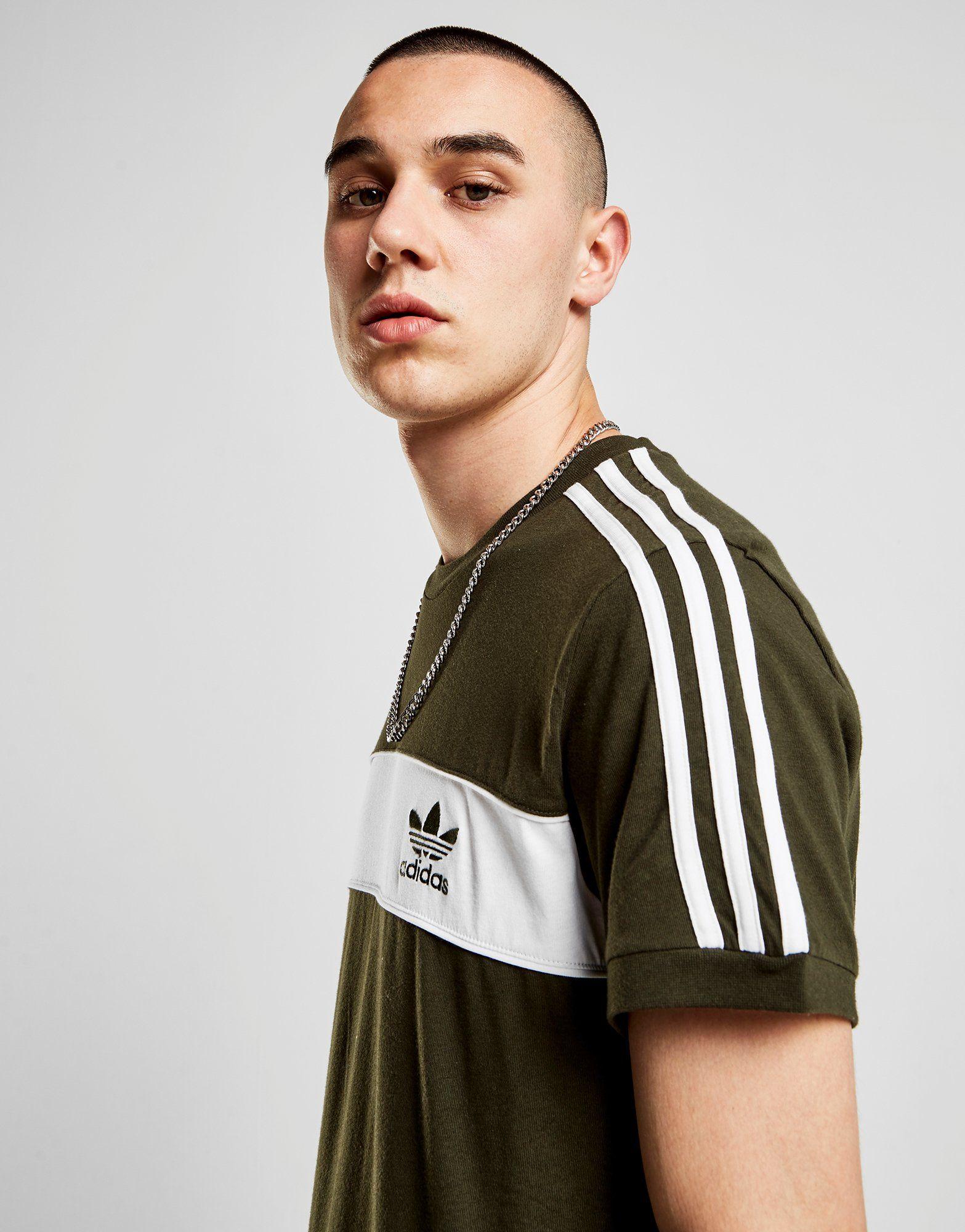 adidas Originals Hamburg T-Shirt Gr眉n