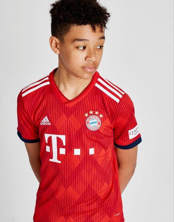 adidas camiseta FC Bayern Munich 2018 19 1.ª equipación júnior  888960c7e8d