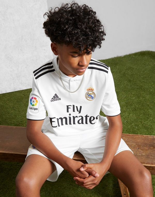 adidas Maillot Domicile Real Madrid 2018 19 Junior  8a293c3ae23d4