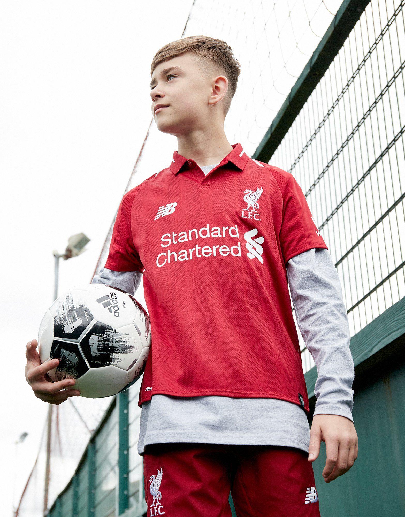 New Balance camiseta Liverpool FC 2018 1.ª equipación júnior