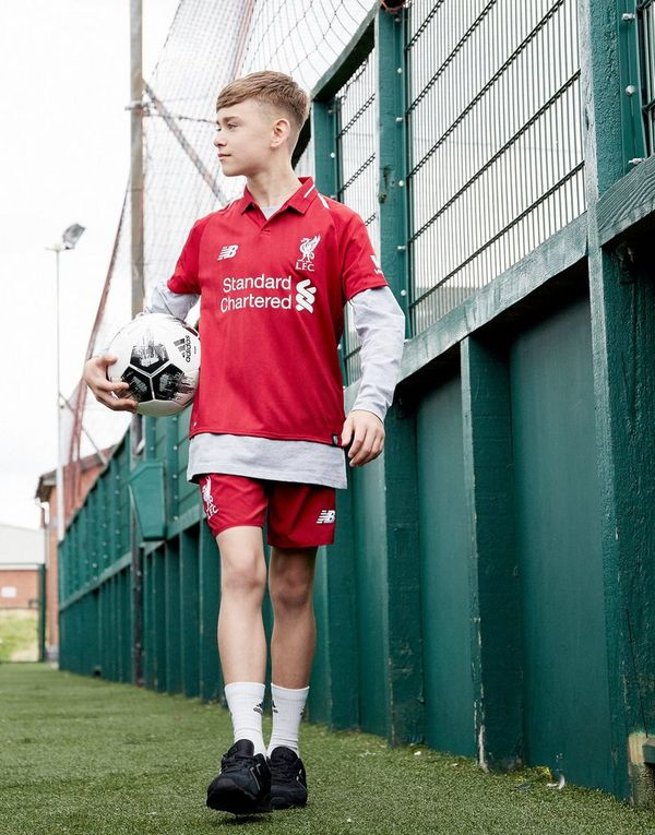 New Balance Short Domicile Liverpool FC 2018 Junior - Payer Pas Cher Avec Visa Prix Pas Cher En Ligne Visite De Vente Pas Cher Acheter Pas Cher Officiel k1kACFa0es