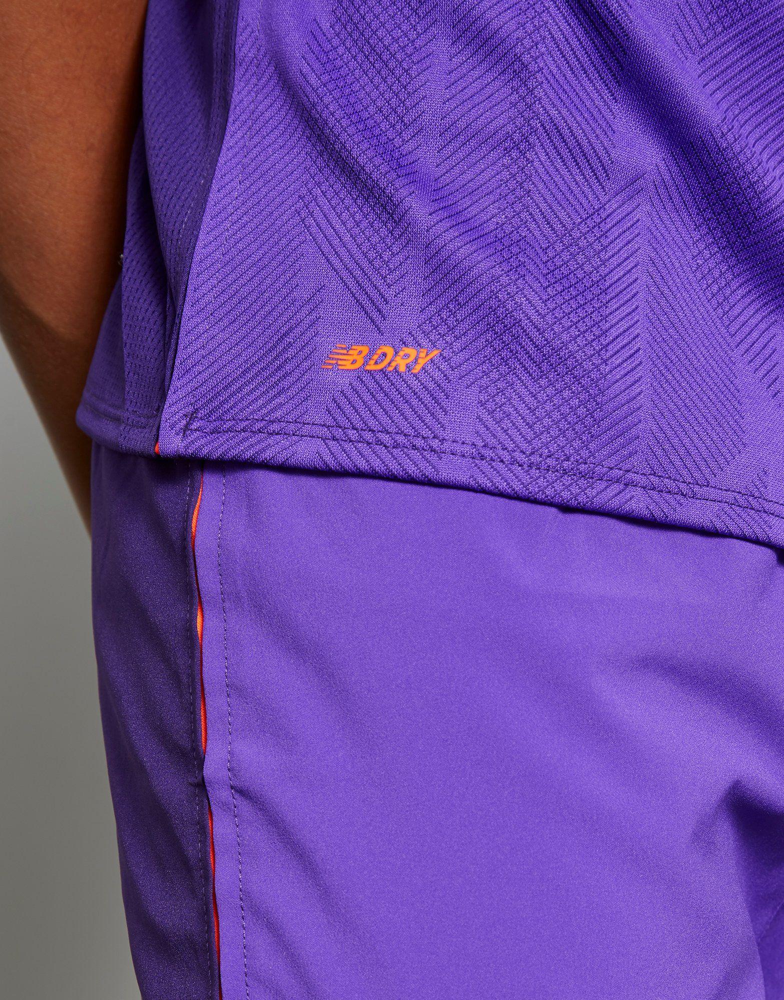 New Balance camiseta segunda equipación Liverpool FC 2018/19 júnior