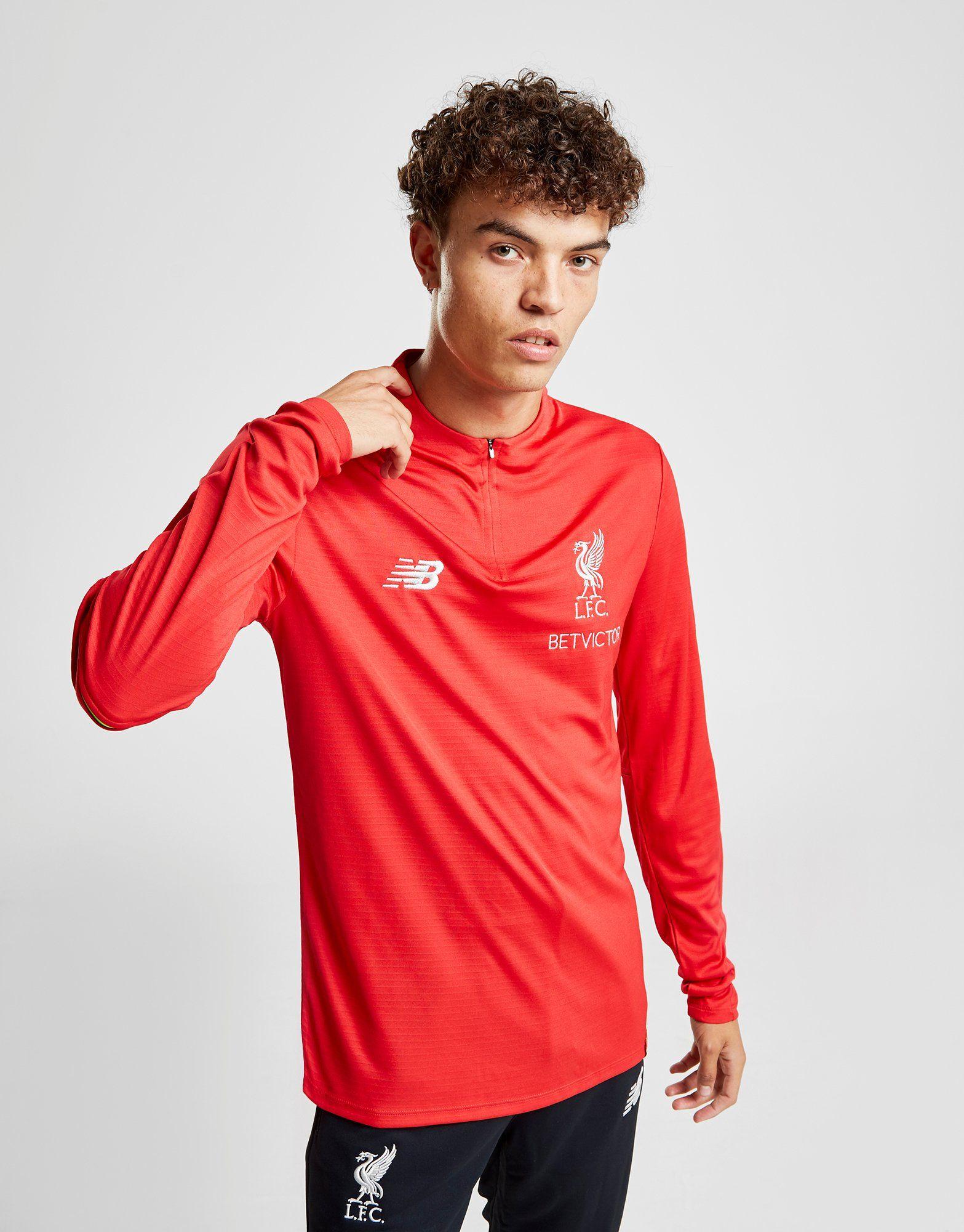 New Balance Liverpool FC 1/4 Zip Top