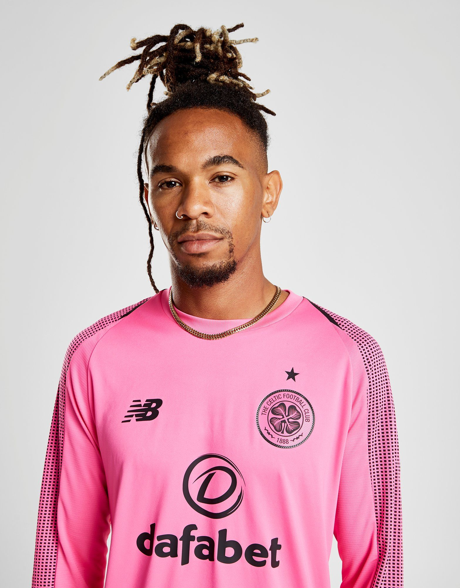 New Balance Celtic FC 2018/19 Away Goalkeeper Shirt