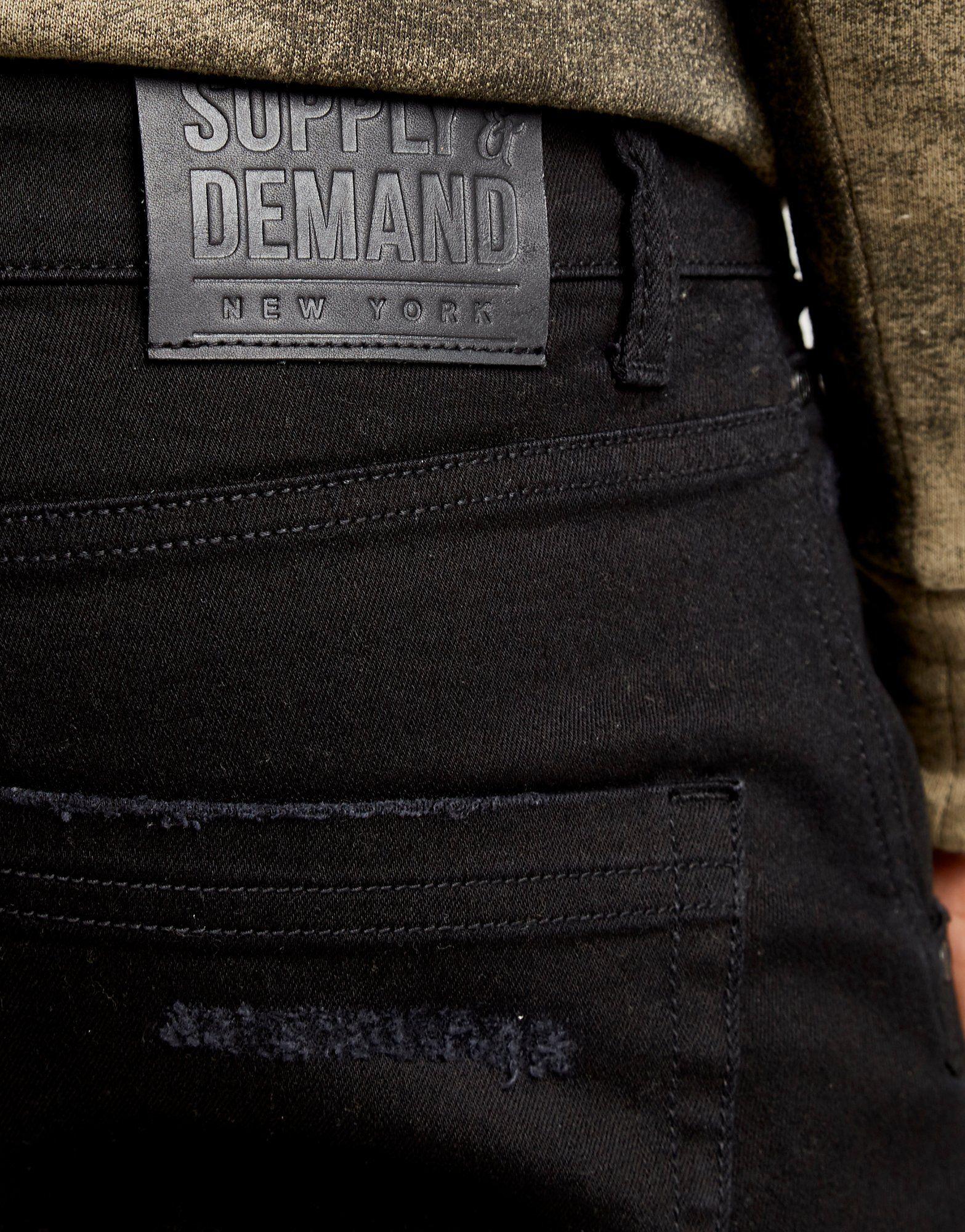 Shorts amp; Supply Benji Schwarz Demand Supply amp; Denim z6qP1Bw