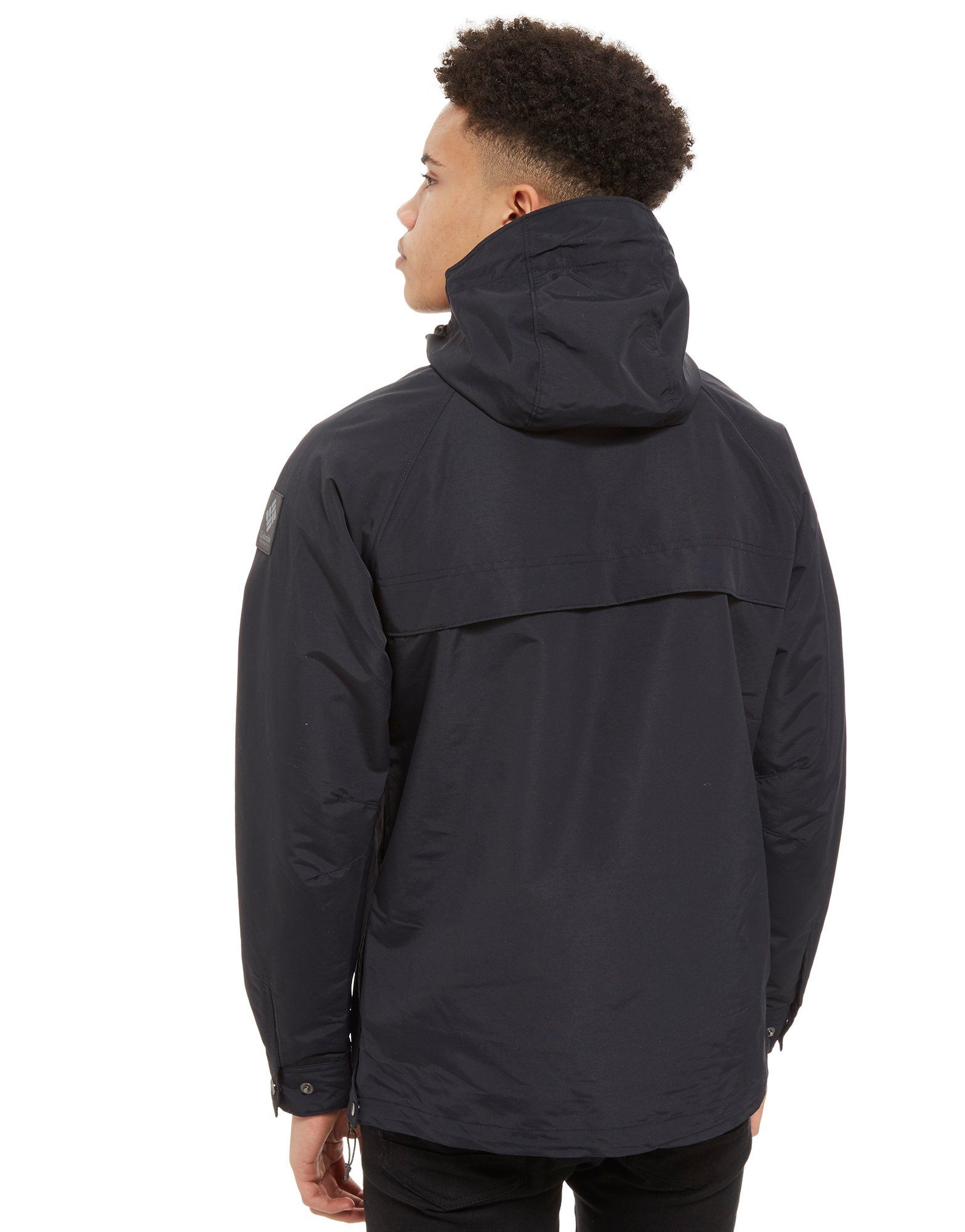 Columbia South Canyon Anorak Schwarz