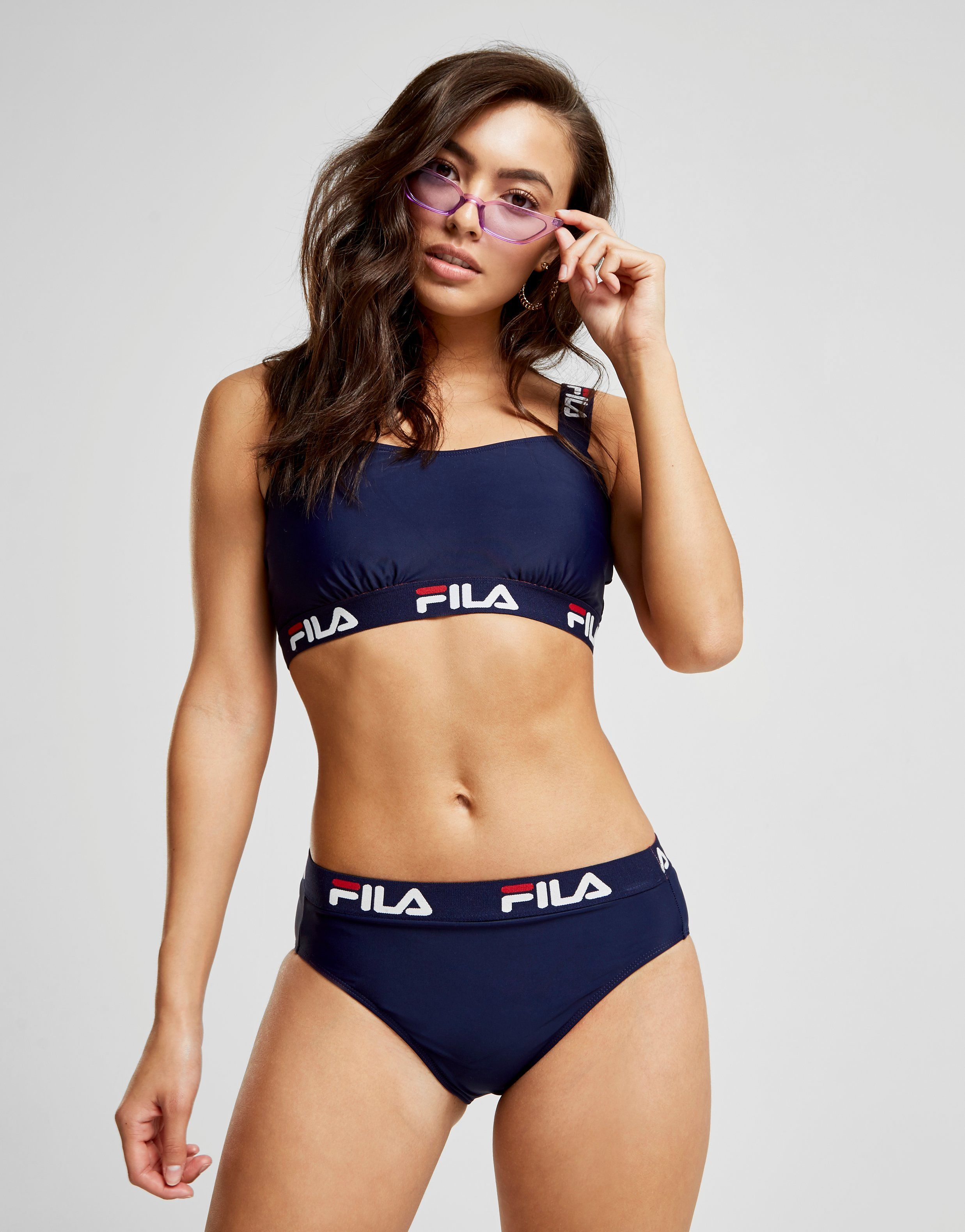 fila bas de maillot de bain tape bikini femme jd sports. Black Bedroom Furniture Sets. Home Design Ideas