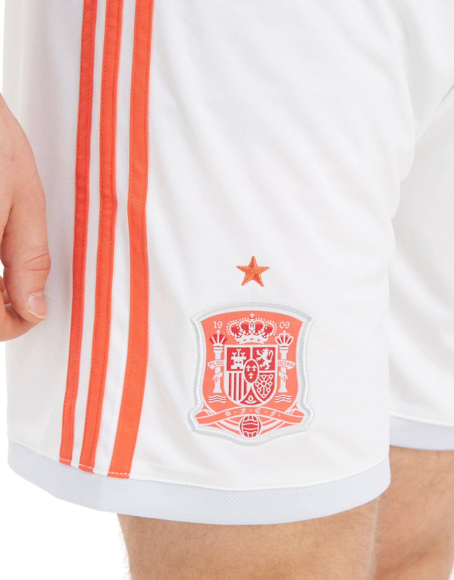 adidas pantalón corto España 2018 2.ª equipación