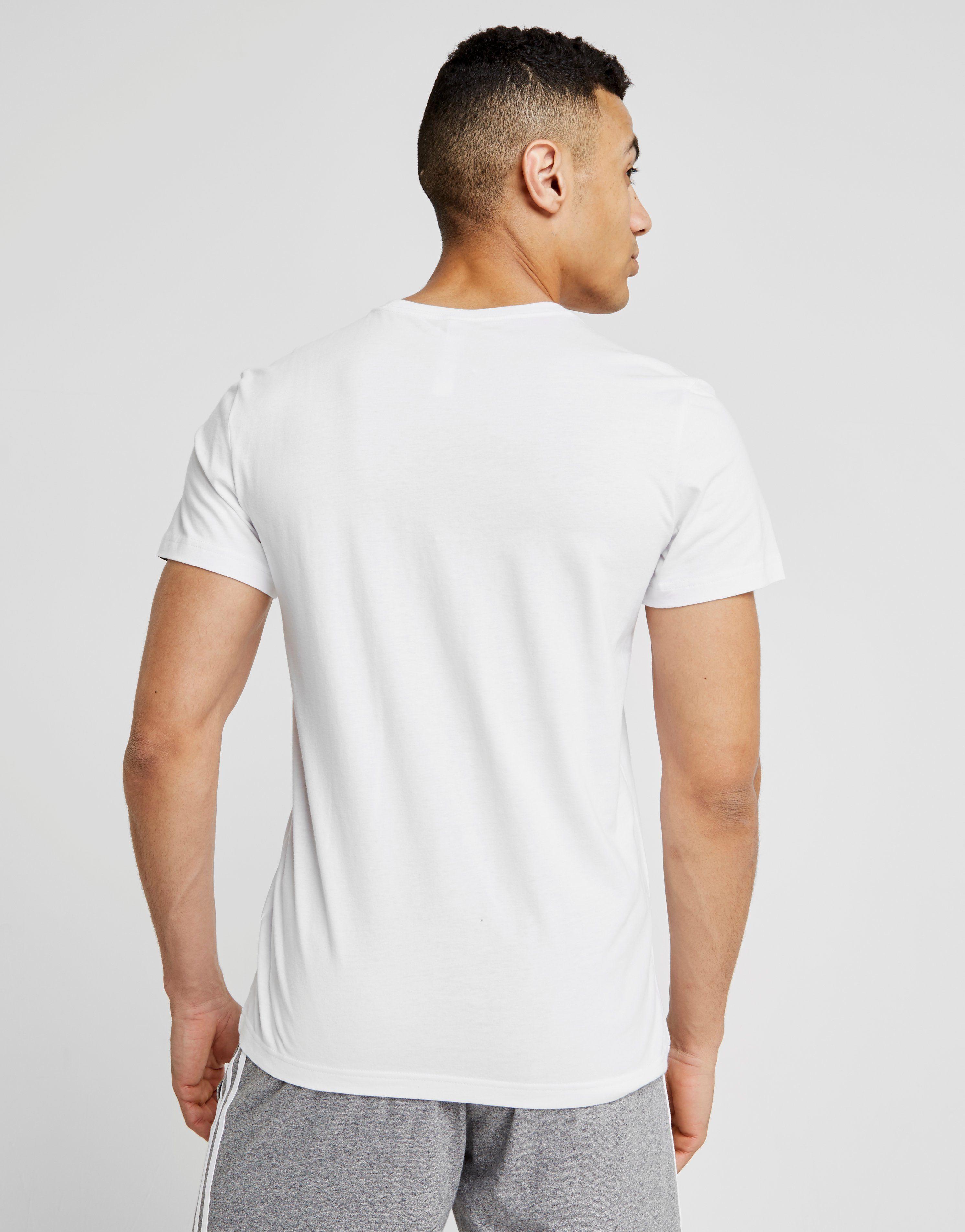 adidas Camo Box T-Shirt Weiß Weiss