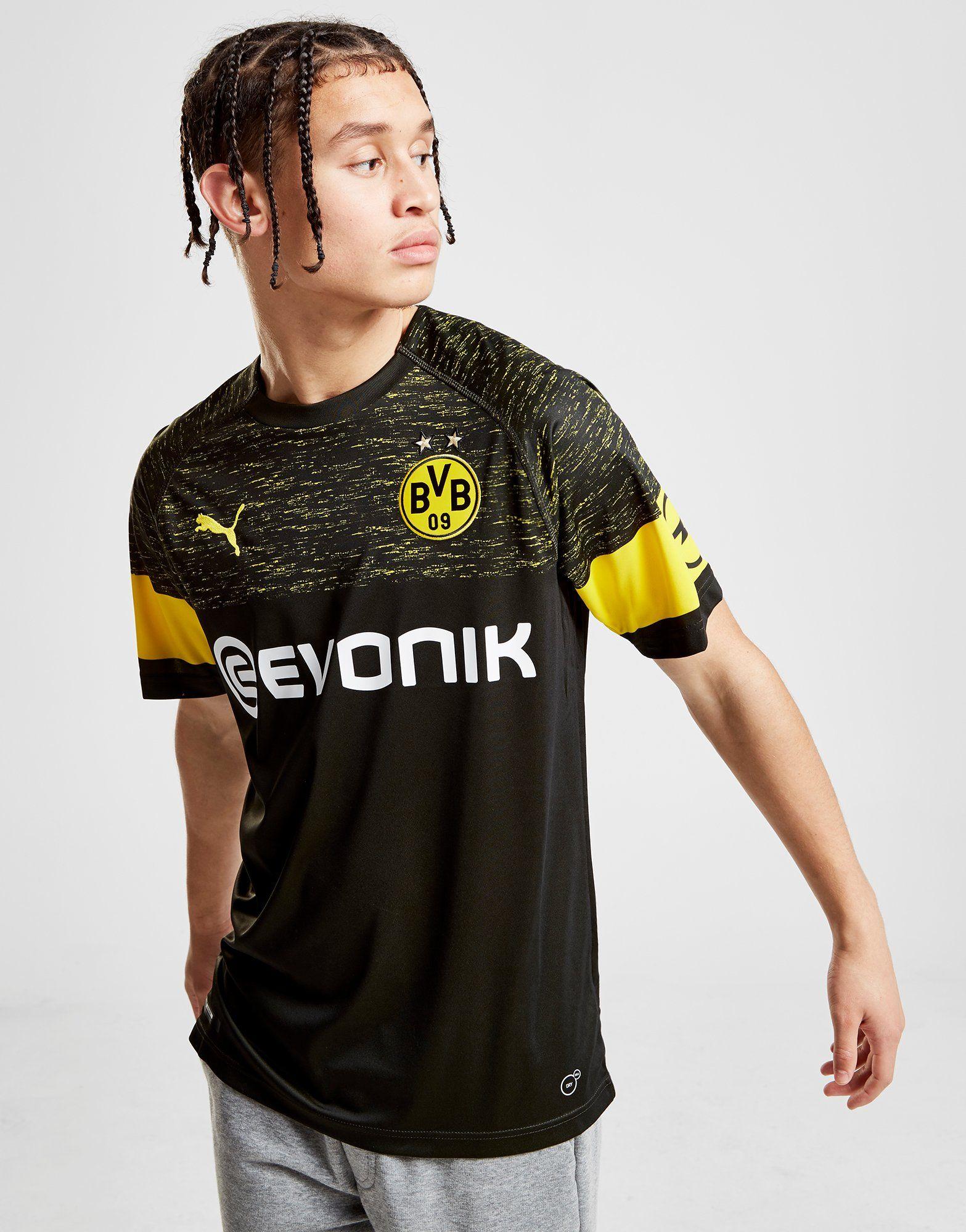 PUMA Borussia Dortmund 2018/19 Away Shirt