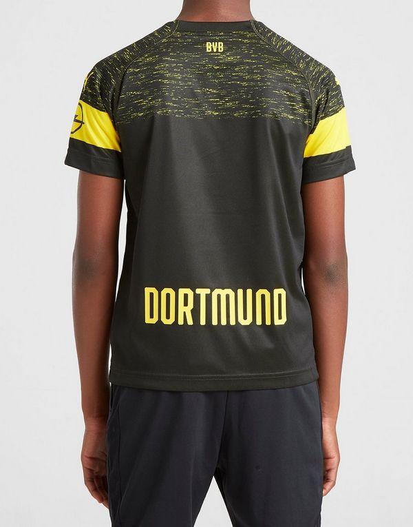 PUMA camiseta Borussia Dortmund 2018 19 2.ª equipación júnior  6e1e19bb1fb48